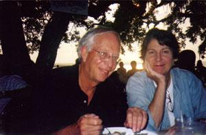 Jim and Sigourney Cheek