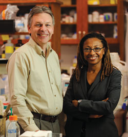 Scott Hiebert, Ph.D., and Dineo Khabele, M.D.