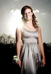Natalie prom